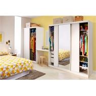 Bedford Freestanding Wardrobe
