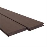 Ekodeck Plus 137 x 23 x 5400mm Classic Dark Brown Composite Decking