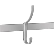 StoreEase Mini Rail Clothes Hook