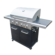 Jumbuck 4 Burner Hooded Stardom BBQ With Side Burner