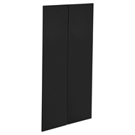 Kaboodle 900mm Luminess Metallic Modern Pantry Doors - 2 Pack