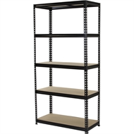 Pinnacle 1830 x 910 x 410mm 5 Tier Adjustable Shelving Unit