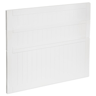 Kaboodle 900mm Vanilla Essence Country 3 Drawer Panels