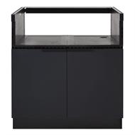 AlfrescoPlus BBQ Cabinet & Air Frame - 885mm Black Onyx