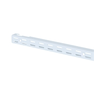 Flexi Storage 762mm White Double Slot Wall Strip