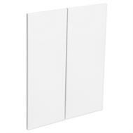 Kaboodle Nougat Truffle Modern Corner Wall Cabinet Doors - 2 Pack