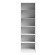 Flexi Storage White 6 Shelf Walk In Wardrobe Unit