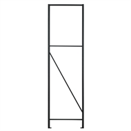 Rack It 400kg 1830 x 530mm Black Upright Shelving