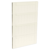 Kaboodle 450mm Antique White Country 4 Drawer Panels