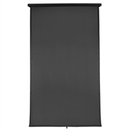 Windoware 2.4 x 2.1m Charcoal Retractable Blind