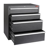 Rack It Pro 600 x 900 x 910mm Black Drawer Insert