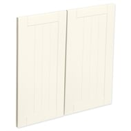 Kaboodle 600mm Antique White Country Rangehood Cabinet Doors - 2 Pack