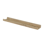 Flexi Storage 600mm Oak Floating Photo Shelf