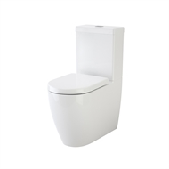 Caroma Urbane Wall Faced Close Coupled Toilet Suite with Soft Close Seat