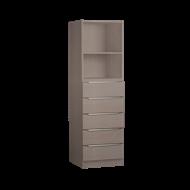 Multistore 1495 x 450 x 430mm Storage Unit - Light Oak