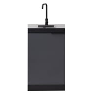 AlfrescoPlus Grey BBQ Modular Single Sink Cabinet - Cadet Grey