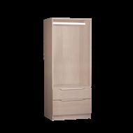 Multistore 1495 x 608 x 430mm Storage Unit - Light Oak