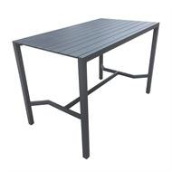 Mimosa 160 x 90cm Aluminium Lava Bar Table