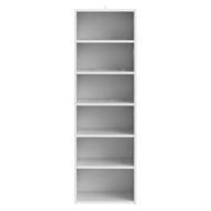 Flexi Storage White 6 Shelf Built In Wardrobe Unit
