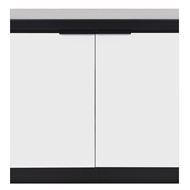 AlfrescoPlus BBQ Modular Door Cabinet - Double Arctic White