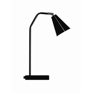 Home Design Black Conico Table Lamp