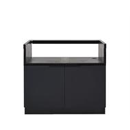 AlfrescoPlus BBQ Cabinet - 1075mm Black Onyx