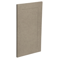 Kaboodle 400mm Raw Board Alpine Cabinet Door