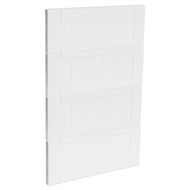 Kaboodle 450mm Vanilla Essence Country 4 Drawer Panels
