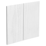Kaboodle 600mm Provincial White Modern Rangehood Cabinet Door - 2 Pack