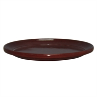 Northcote Pottery Sienna 'Glazed Look' Round Saucer - 350mm