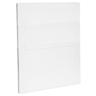 Kaboodle 600mm Vanilla Essence Country 3 Drawer Panels
