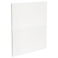 Kaboodle 600mm Gloss White Modern 2 Drawer Panels