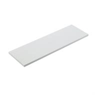 Flexi Storage 600 x 200 x 16mm White Timber Shelf