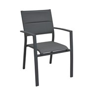 Mimosa Aluminium Lava Sling Dining Chair