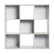 Flexi Storage Clever Cube 910 x 910 x 295mm 3 x 3 White Compact Storage Unit