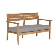 Mimosa Timber Honolulu 2 Seater Sofa Chair with Cushion