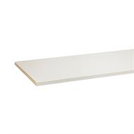 3600 x 445 x 16mm ABS White Melamine