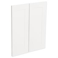 Kaboodle Macaroon Alpine Corner Wall Cabinet Doors - 2 Pack