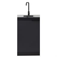 AlfrescoPlus Sink Module - Single Black Onyx