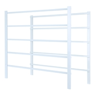Flexi Storage White 5 Runner Frame