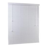 Zone Interiors 180 x 210cm 50mm PVC Long Island Venetian Blind - Winter White