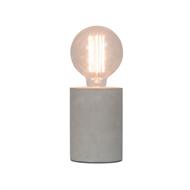 Home Design Tocco Concrete Lamp Base