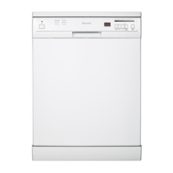 Everdure 60cm White Freestanding Dishwasher - DWF146WC