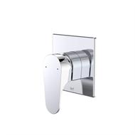Dorf Chrome Viridian Bath / Shower Mixer