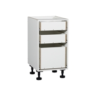 Kaboodle 450mm 3 Drawer Base Cabinet