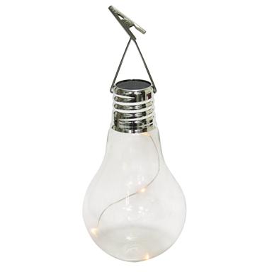 Gardenglo Solar Powered Hanging Glass Globe Bunnings Warehouse