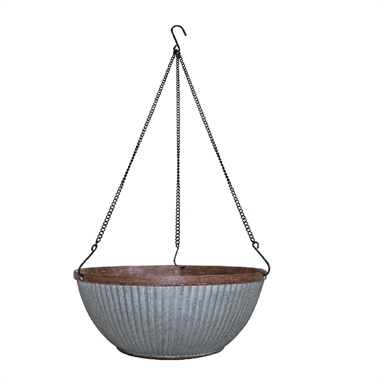 Northcote Pottery 31cm Irondale Hanging Basket Bunnings Warehouse