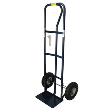 Saxon 250kg P Handle Hand Trolley With Pneumatic Tyres Bunnings Warehouse