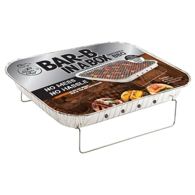 """Hook /""""N/"""" Cook Disposable BBQ Tray Stand"""