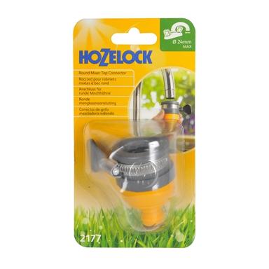 Hozelock Round Mixer Tap Connectormaximum of 24mm diameter